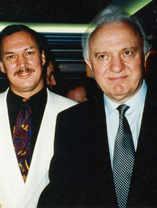 Yuri with Eduard Schevardnadze.