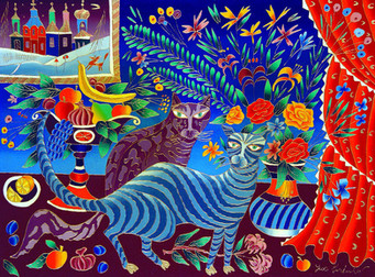 089a 40X30 TWO CATS, 1996-web.jpg