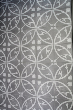 Decorative external tiles
