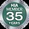 HIA Member for 35 Years