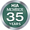 HIA Member for 35 Years