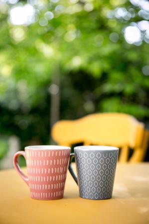 Kávé a szabadban