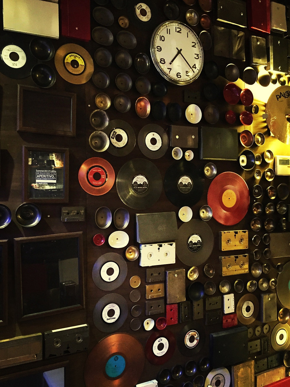 Wall of Old Records