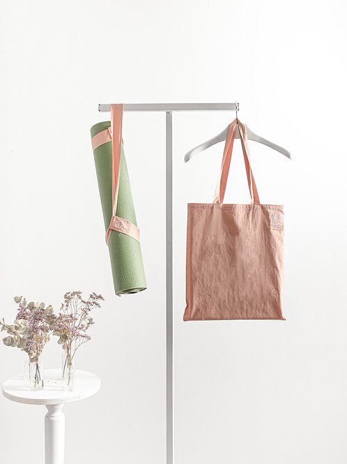 Shopper and Yoga Strap