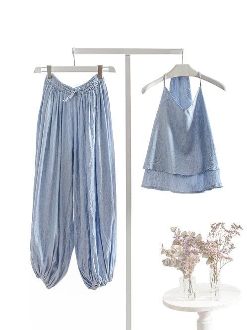 Light Blue Yogasuit