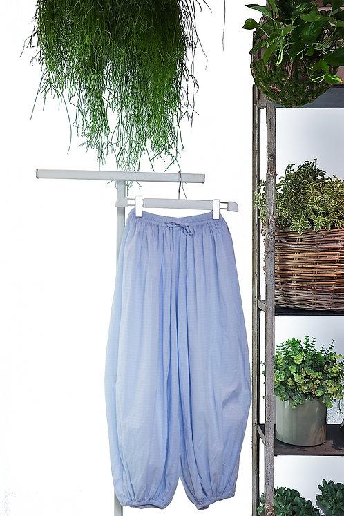 Light blue striped Yoga trousers