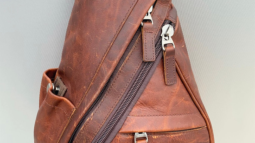 Created To Be Noticed (Brown Leather) C2BN Bags