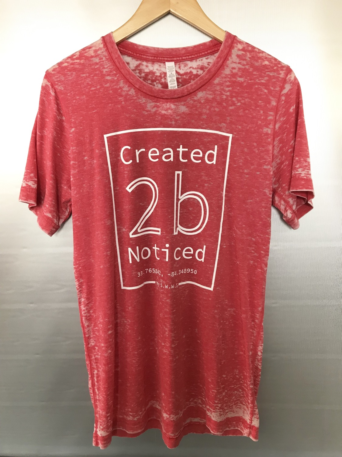Created To Be Noticed  (c2bn)  - Element - Acid Wash Red