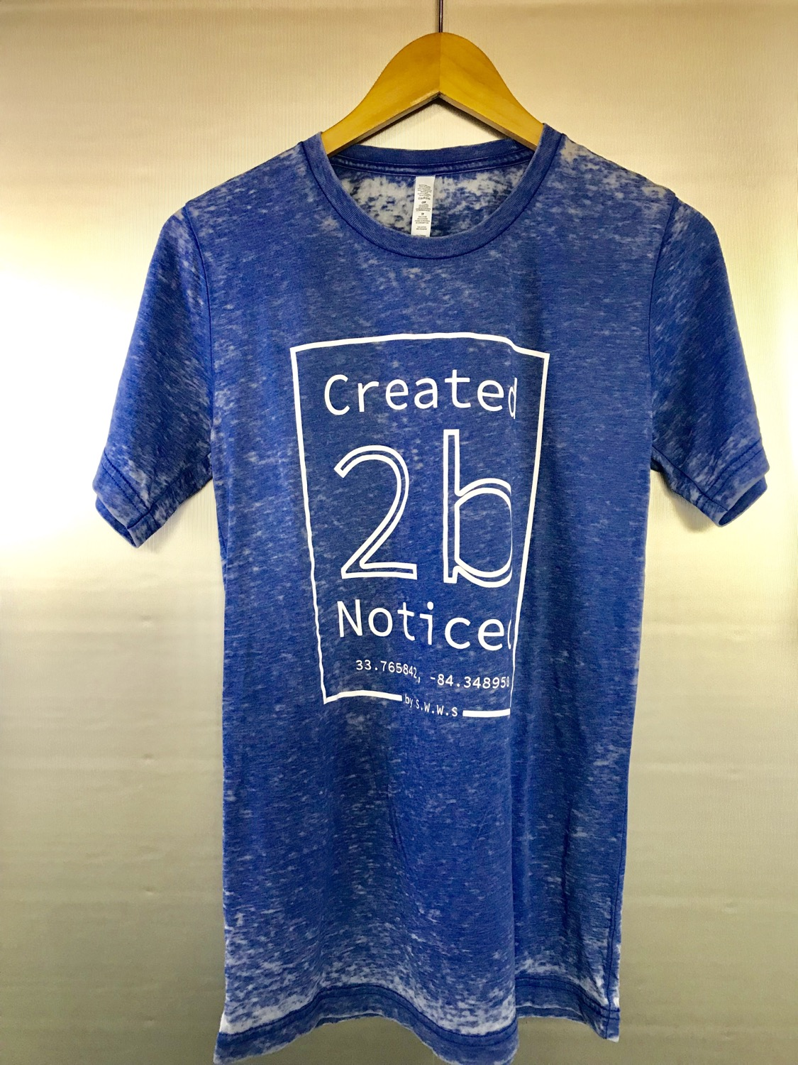 Created To Be Noticed (c2bn) - Element - Acid Wash Blue
