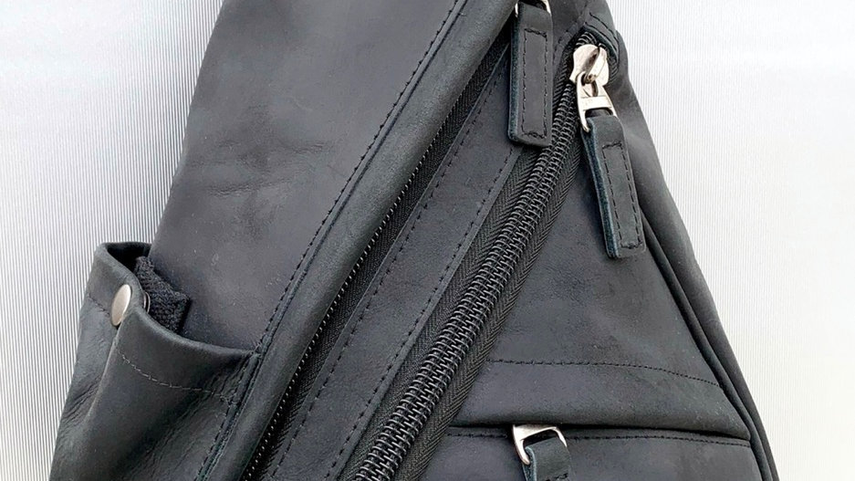 Copy of Created To Be Noticed  - C2BN Bag Black Leather )