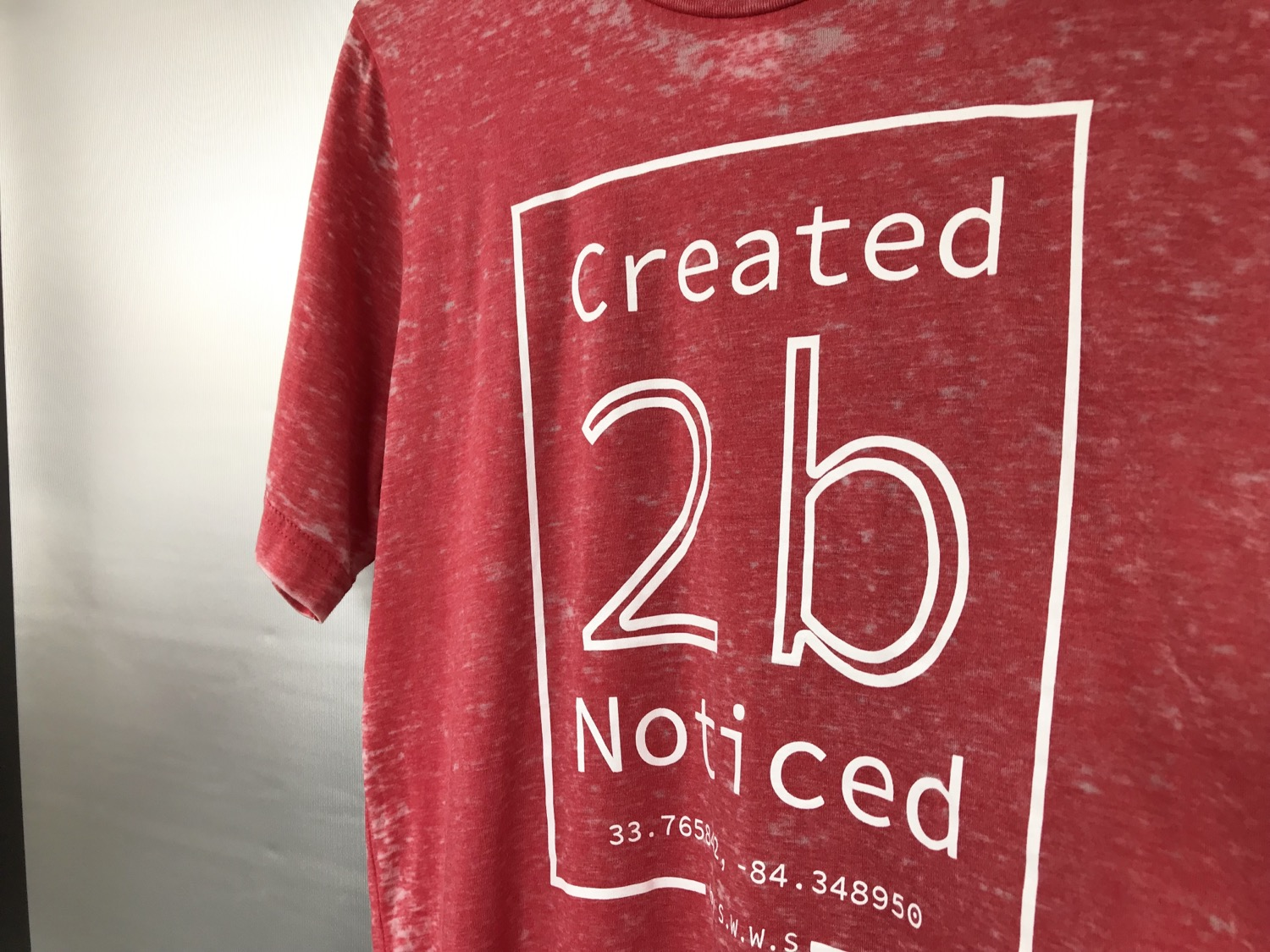 Thumbnail: Created To Be Noticed  (c2bn)  - Element - Acid Wash Red