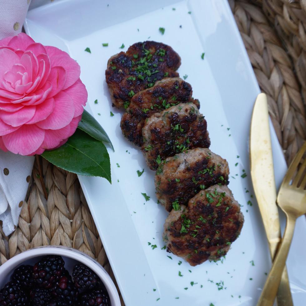 AIP Maple Sage Pork Patties - Guest Post by Kaylie Watson