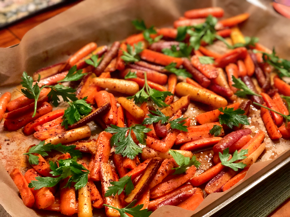 Inflammation-Fighting AIPSpiced Carrots