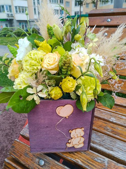 Купить букет Щербинка|Доставка цветов Бунинские луга|Цветы в Бутово|Доставка цветов и подарков Бунинские луга Москва