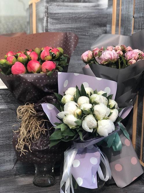 Пионы|Город Цветов|Цветы с доставкой Москва Переделкино|Цветы с доставкой Вяземское