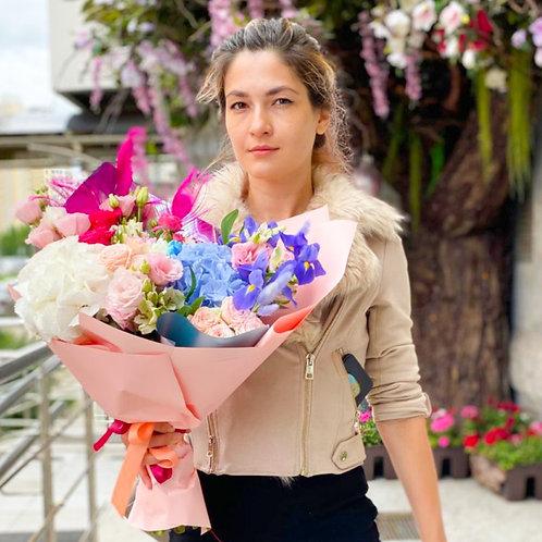 Купить букет Бунинские луга|Доставка цветов Бунинские луга|Цветы в Бутово|доставка корзинок с цветами бунинские луга