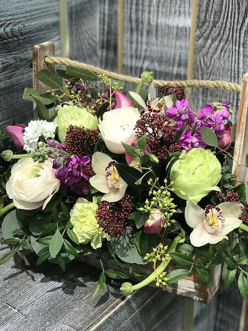 Букет|Орхидея|Город Цветов| Москва и Московская область|Цветы с доставкой Москва Переделкино