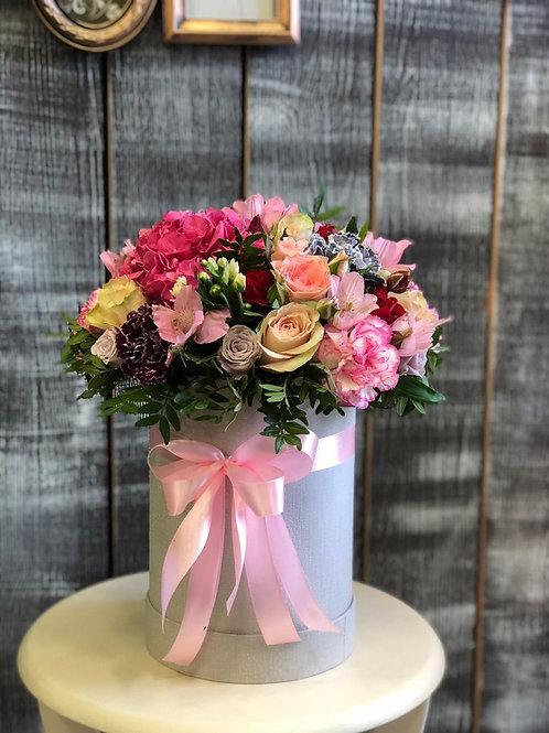 Цветы в коробке|Город Цветов|RadaFlowers|Цветы с доставкой в Фоминское|Цветы в Бунинские Луга|Цветы с доставкой Вяземское