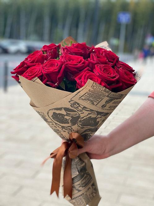 Букет из роз  Рэд Наоми 388