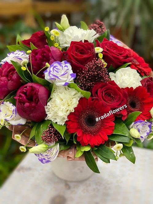 Букет цветов|Пионы|Розы| Город Цветов|RadaFlowers|Цветы в Коммунарке|Цветы в Бунинские Луга|Доставка цветов в Переделкино