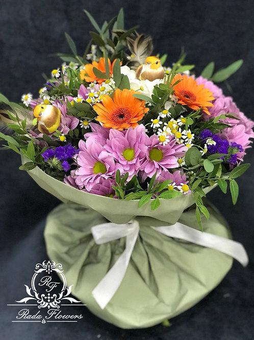 Букет |Город Цветов|КП Рассказовка|Доставка цветов в Изварено