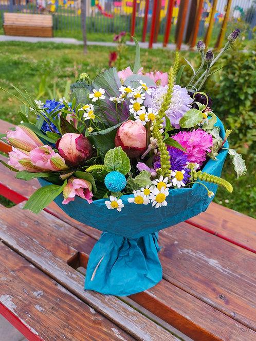Купить букет Первомайское Доставка цветов Бунинские луга Цветы в Бутово Доставка цветов и подарков Бунинские луга Москва