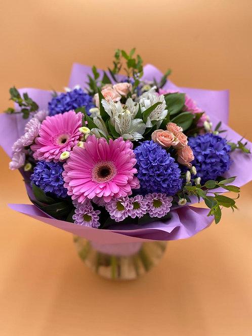 Букет Город Цветов RadaFlowers доставка цветов в Испанскии Квартал Цветы в Бунинские Луга Доставка цветов в газопровод