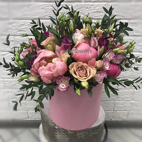 Цветы в коробке|Город Цветов|RadaFlowers |Цветы в Коммунарке|Цветы в Бунинские Луга|Доставка цветов в Переделкино