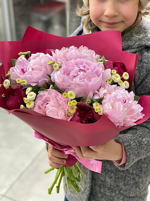 Пионы|Город Цветов|RadaFlowers |Цветы в Коммунарке|Цветы в Бунинские Луга|Доставка цветов в Переделкино