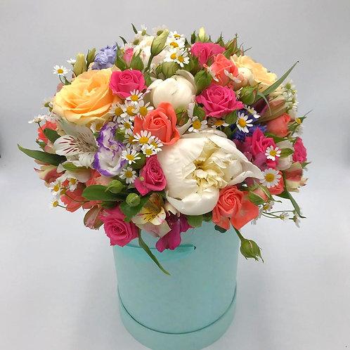 Цветы в коробке|Город Цветов|RadaFlowers|доставка цветов в Испанскии Квартал||Цветы с доставкой Вяземское