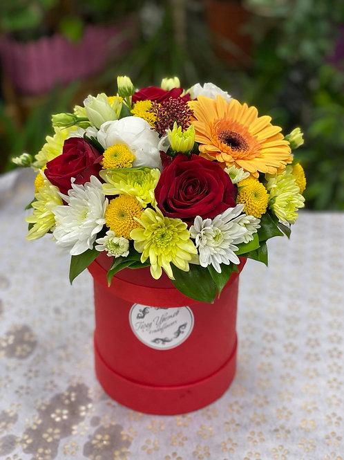 Цветы в коробке|Город Цветов|RadaFlowers|Цветы в Коммунарке|Цветы в Бунинские Луга|Доставка цветов в Переделкино