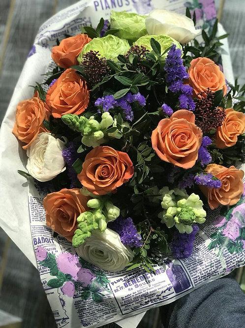 Букет|Розы|Город Цветов| Москва и Московская область|Цветы с доставкой в Фоминское