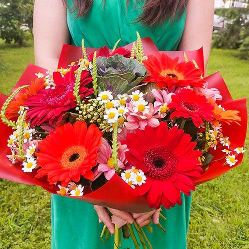 Купить букет Коммунарка|Доставка цветов Бунинские луга|Цветы в Бутово|Доставка цветов и подарков Бунинские луга Москва