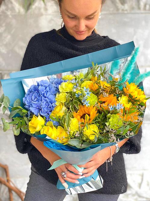 Купить букет Бунинские луга|Доставка цветов Бунинские луга|Цветы в Буннино|доставка корзинок с цветами бунинские луга