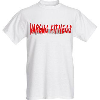 Vintage Vargus Fitness T-Shirt White