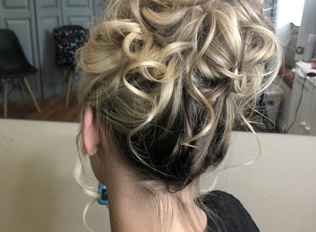 Bridal Hair - Updo Placement