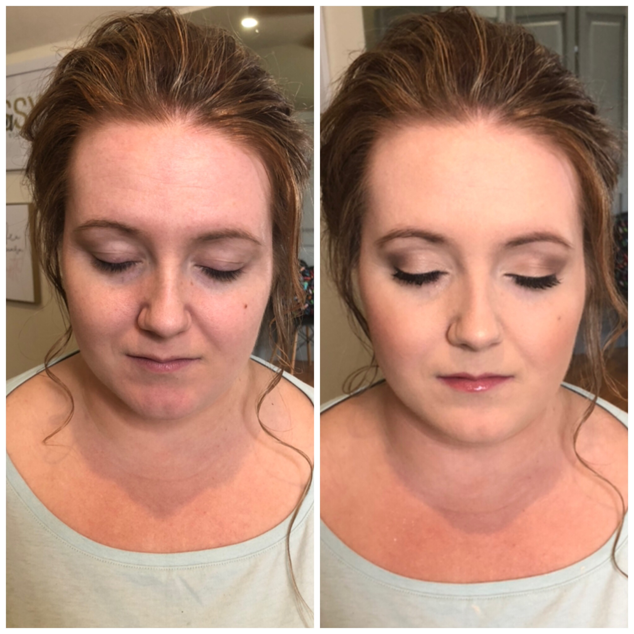 Bridal Trial Before & After