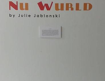 """Julie Jablonski - """"Nu World"""""""