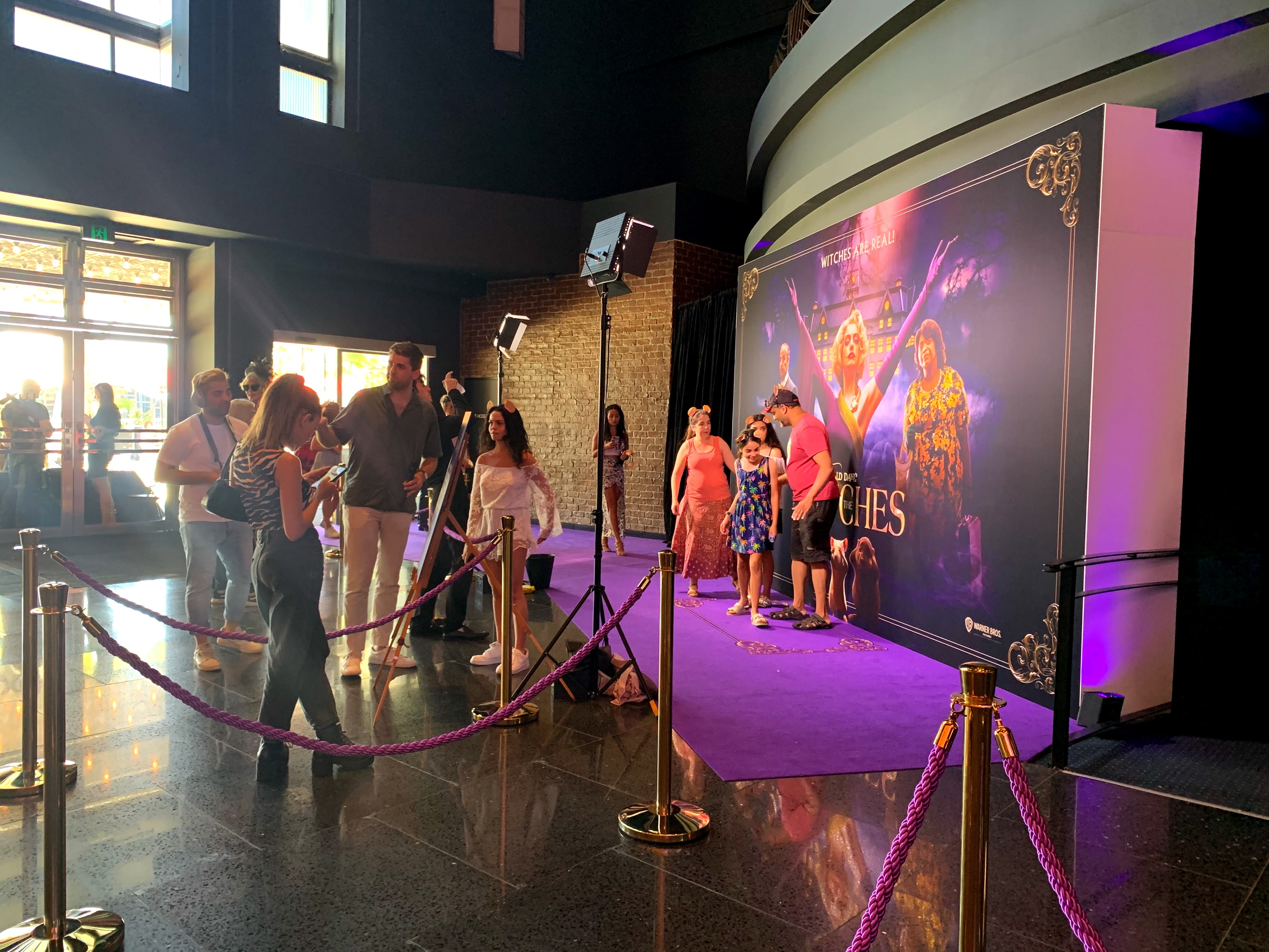 The Witches Sydney Premiere, Nov 2020