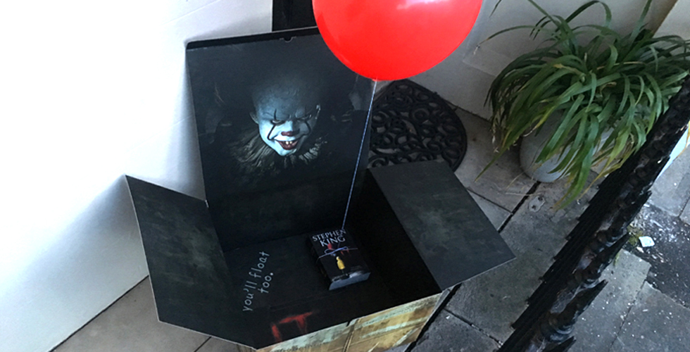 Stephen King's IT Publicity Drop