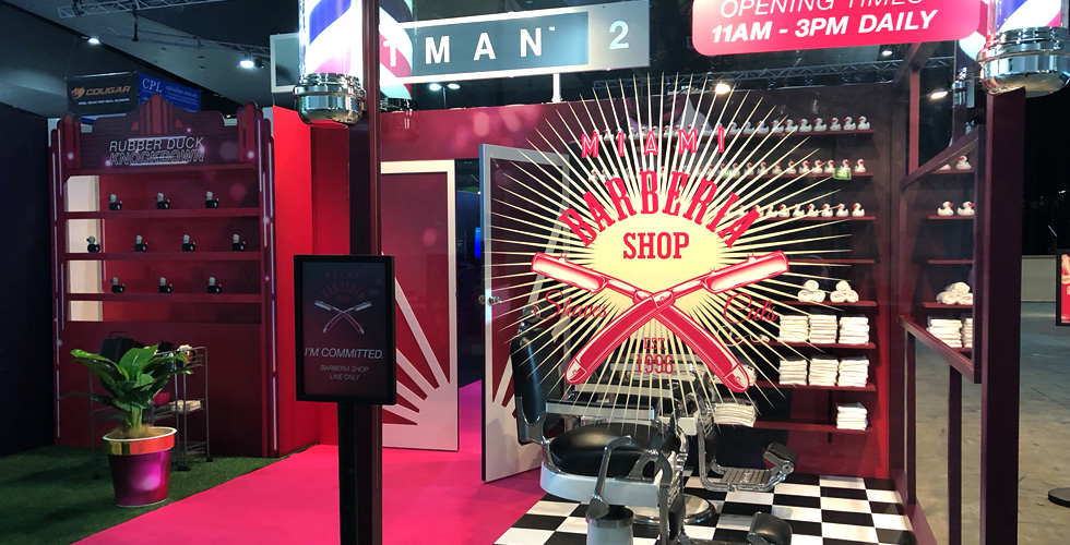 Hitman Barber Shop | PAX 2018