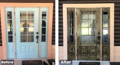 Waycross Front Door Faux Finish Painters