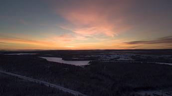 Maisemaa Ruotsin suuntaan