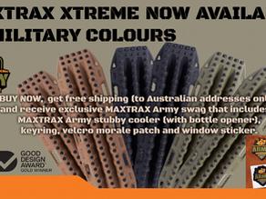 """MAXTRAX"" in stock."
