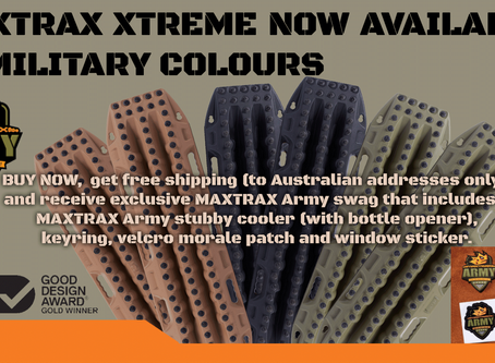"""MAXTRAX"" in stock."