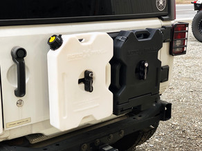 Rotopax mount for Jeep