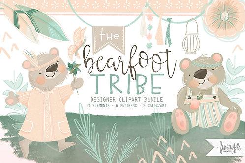 Bearfoot Tribe Graphic Bundle