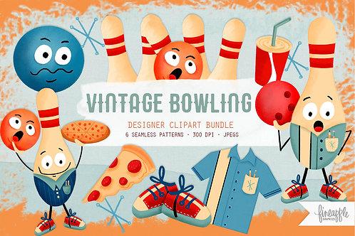Bowling Graphic Bundle