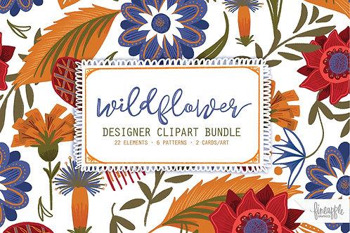 Wildflower Graphic Bundle