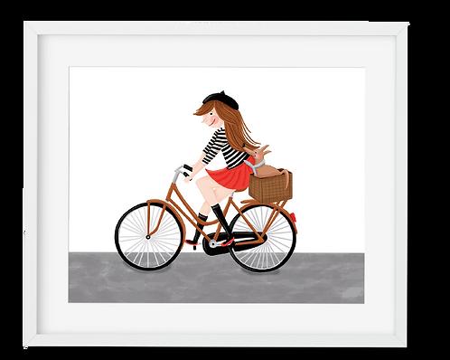 Parisian Bike Ride